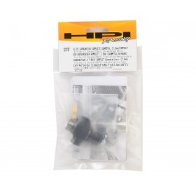 Slide carburetor complete gunmetal (7.5mm/composit)