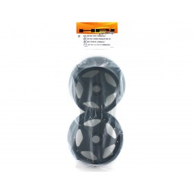HPI super star wheel black (120x60mm) (2pcs)