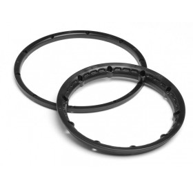Heavy duty wheel bead lock rings (Black/2pcs)
