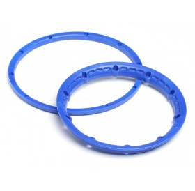 Heavy duty wheel bead lock rings (Blue/2pcs)