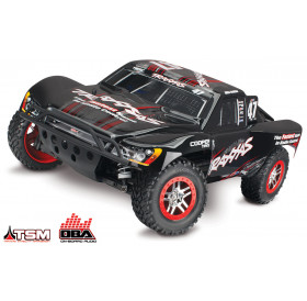 Traxxas Slash 4x4 Short Course Truck TSM OBA (3qtr black)