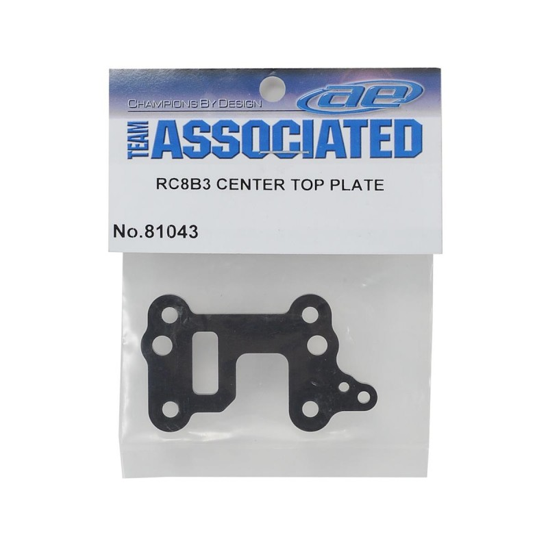 RC8B3 center top plate