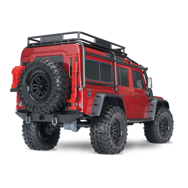 Traxxas TRX4 Defender scale & trailer crawler