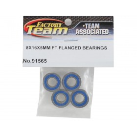 8x16x5mm FT flanged bearings
