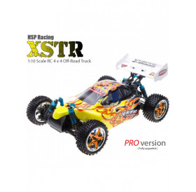 HSP XSTR 1:10 4WD brushless Buggy - PRO LiPo 2018 edition RTR