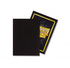 100 Dragon Shield standard card sleeves (Black matte)