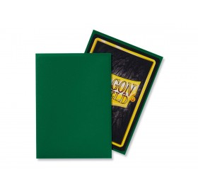 100 Dragon Shield standard card sleeves (Green matte)