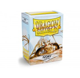 100 Dragon Shield standard card sleeves (Ivory matte)