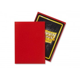 100 Dragon Shield standard card sleeves (Crimson matte)