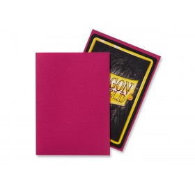 100 Dragon Shield standard card sleeves (Magenta matte)